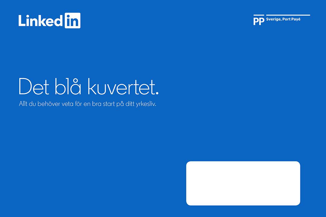 LinkedIn > Det blå kuvertet